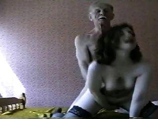 debbie und alter Mann