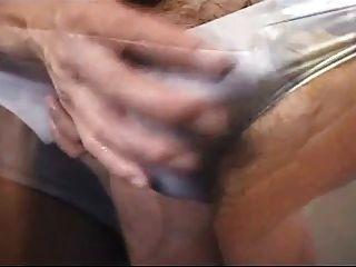 Homosexuell Erektion in Unterwäsche
