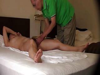 japanische Frau orgasmisch Massage