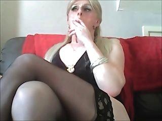 Sissy Schwuchtel Vorabend Rauch Schlampe