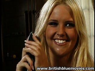 Hannah Harper - Britische Porno Rasur Muschi dann anal