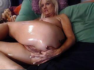Webcam Oma Gespräche schmutzig