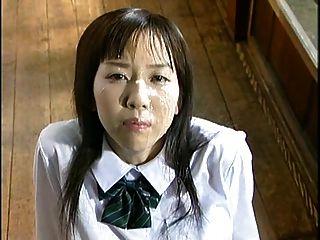japan Mädchen bukkake