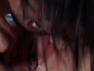 Filipinamädchens monica lopez in den Arsch gefickt