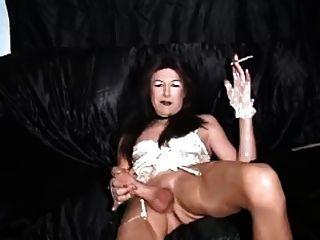 hott Transe Rauch Masturbation