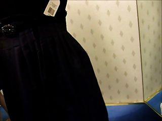 store Ankleideraum Blowjob in zurück Kleid Rack