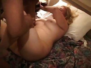 weißes Mädchen bekommt bbc in Motel