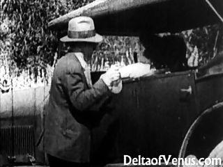 seltene antike porn, Anfang der 1900er Jahre - eine freie Fahrt