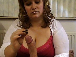 MILF mit großen Titten necken und Verleugnung