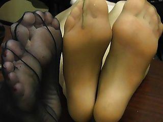 Büro Fuß necken