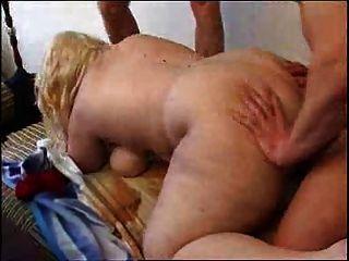 blond BBW Dreier
