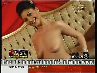 atemberaubende rumänisch Mädchen anne tanzen nackt im Fernsehen!
