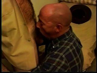 hot Sheriff einen kahlen Vater verdammt