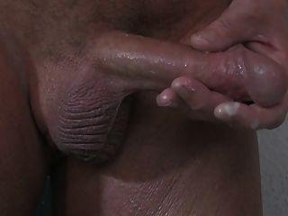 Prostata-Massage und schwer cum