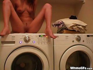 Masturbation in der Waschküche