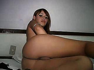 schöne junge braune Haare Transvestiten 1