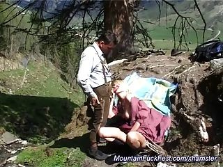 hart anal ficken im Berg