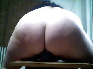 Webcams 2014 - große runde jiggly Esel reiten Dildo