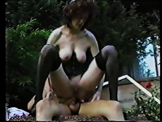 retro bdsm - bizarr - schlaffe Titten - anal