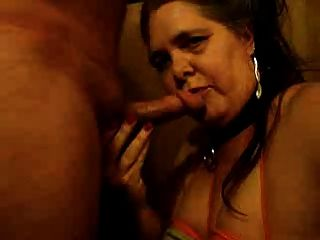 Blowjob Hubby & Sperma auf mein Gesicht mit Titten gebunden dicht !!