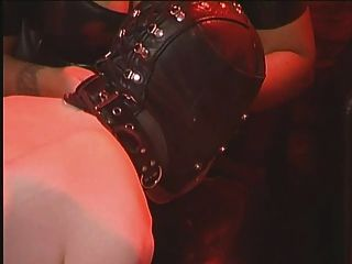 Dildo Strap-on Training bdsm Sklavenhaube