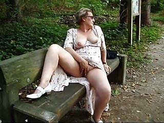im Freien im Park