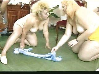 zwei blonde bbws