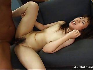 Erstaunliche asiatische Reiten Hahn und dann wie ein Hund gefesselt!