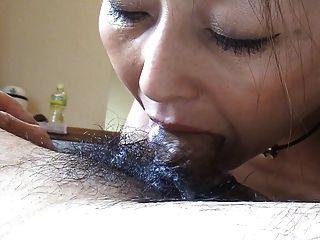 sie mag Sperma in den Mund 08