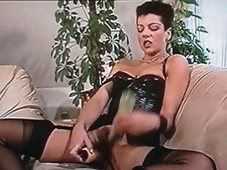 Deutsch klassische Masturbation aus den 80er Jahren