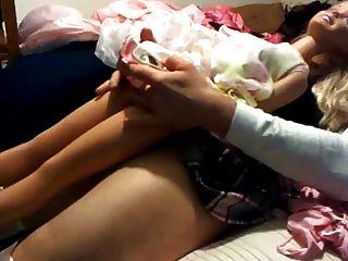 barbie mit Hahn