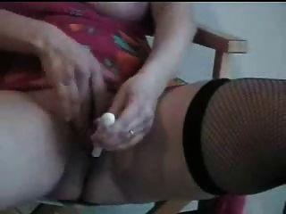 guten Orgasmus meines reifen italienischen Frau. Amateur