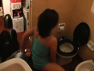 menschliche Toilettenpapier