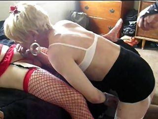 Sissy Hündin wendy jane Schwanz suckin und gettin gefickt