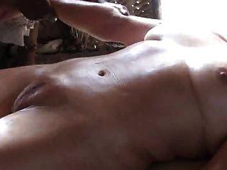 reife Massage auf perfekte kamelzehe Muschi - londonlad