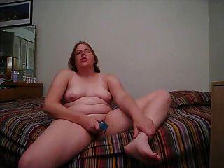 Fett spielt in ihrem Bett