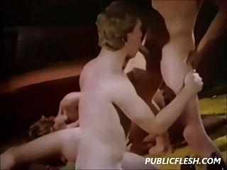 Vintage-Gruppe Homosexuell Twink hardcore