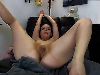 riesigen anal fuck Spielzeug in Arsch mit großen spritzen Job