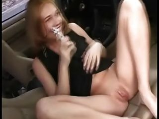 violett fickt stickshifft und masturbe mit vibro