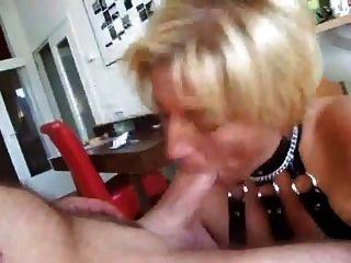 große tiefer Oralsex und Felgen Job