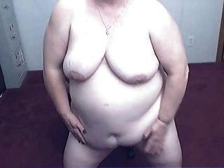 Fett Oma in einem Nocken r20
