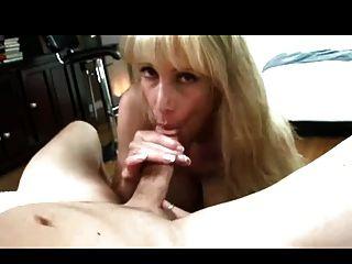 hot reife Blondine Puma pov bj