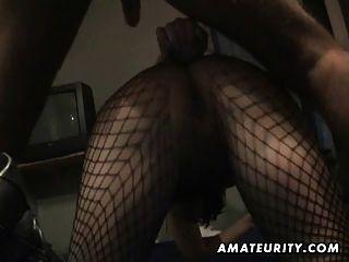 Amateur hausgemachte anal mit Sperma in den Mund