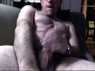 hot Vater auf dem Sofa Wankin