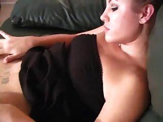 joi und necken mit Strumpfhosen Babe