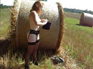 Rothaarige Amish Streifen