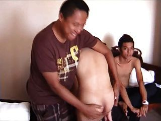 vier Indonesier ohne Sattel 1. Teil