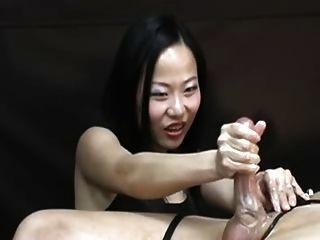 asiatisch harten Handjob 2