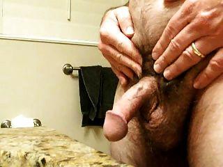 kleinen Schwanz Pochen und Cumming