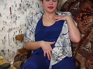 Russische Mutter 19 reifen mit einem jungen Mann